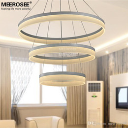 Hot sale LED Chandelier Lighting Ring Light modern led chandelier Hanging Lamp Lustre Light Ready Stock Fast Shipping MD5060