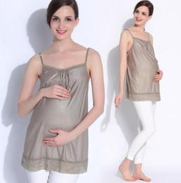 2019 anti-strahlung kleidung schwangere frauen HOHE QUALITÄT Umstandsmode Silver Fiber Mutterschaft Strahlenschutz eignet sich für Schwangerschaft camis strahlungssichere Kleidung für Mutterschaft