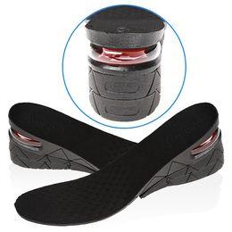 Talons bon marché pour les hommes en Ligne-Pas cher Unisexe Orthotic Arch Sport Chaussures Pads PVC Augmentation Augmentation Semelles Insérez Air Cushion Hommes Femmes Invisibilité Talon Lifed