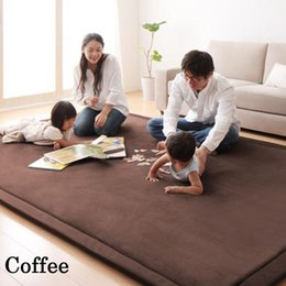 Wholesale Oval Carpets - Thick Floor Rugs Tatami Mat Play Mat Christmas Gift 80cm X 200cm Children Play Ground Places Rectangle Floor Carpet