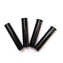 Оптовая торговля онлайн-Оптовая Vape картриджи упаковочные трубки 0.5 мл 1 мл пластиковая прозрачная трубка черная трубка для Толстого масляного картриджа Vape Pen пустой контейнер PP tube