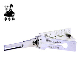 Décodeur hu92 bmw en Ligne-Véritable LISHI Lishi hu92 2 en 1 serrure pick et décodeur pour BMW