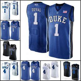 11fabec075a ... cheapest duke blue devils college basketball jerseys 3 garyson allen 1  harry giles 4 jj redick