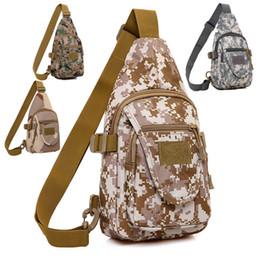 Wholesale College Wallets - Outdoor camouflage sports casual fashion Slingshot shoulder bag camping hiking retro luxury gym bag designer wallet free delivery