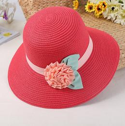 Sombrero de verano de flores de tela casual Sombrero de paja   playa  Sombrero de pescador Sombrero de sol   Playa Plegable Sol Regalo de Chapeau  Femme ... b41aa1bb495