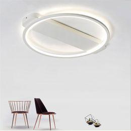 Wholesale Modern Wedges - Acrylic Modern Chandelier Lighting Indoor Simple LED chandelier For bedroom kitchen living room Lighting Fixtures D62 52 42cm