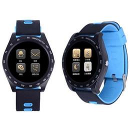 Проигрыватель камеры онлайн-Smart Watch Call Smartwatch Sports Passometer Camera Health Round Wearable Devices For Android Bracelet Music Player