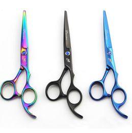 Kits de barbeiro on-line-Tesoura de Cabeleireiro Kit Coiffure Hair Cutting Tesoura Tesoura De Cabelo Profissional Cabelo Emagrecimento Tesoura Ferramentas de Salão de Barbeiro