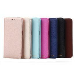 Защитный кронштейн онлайн-Для Apple 6/7/8/9 IPhoneX/XS чехол для мобильного телефона с магнитным кронштейном раскладушка кожа Шелковый бумажник карты всасывания защитный чехол