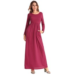 3ae662e9d21f Free Shipping to UK · black spandex dress long sleeve UK - Zanzea Spandex  Pleated Full Regular Limited Rushed Dress Plus