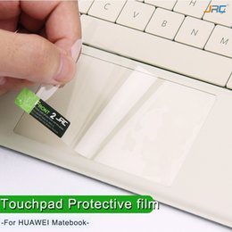 2019 tabletas de piel clara Touchpad Protector de película adhesiva Protector para Huawei Matebooke E / D / X portátil Panel de control táctil Proteger membrana invisible.