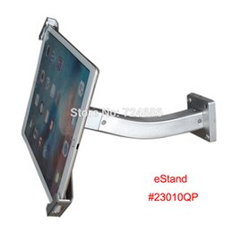Wholesale Hotels Bank - universal 10 to 13 inch tablet security wall mount with lock bracket display holder for surface pro mounting on bank or hotel