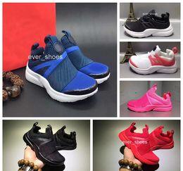 Wholesale baby girl red - 2018 Chaussures Pour Enfants Baby Girl Boys Sport Shoes Presto Sneakers Kids Boots Children Walker designer Shoes Eur 24-35