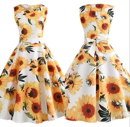 aab9491f63a5 Vestido De Girasoles Online | Vestido De Girasoles Online en venta ...