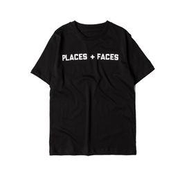 5d0a62b100b 2018 dongguan wholesale Summer style Places+Faces printed women men casual  t shirt men streetwear skateboards o-neck short sleeve t shirts t cheap  shirt xs