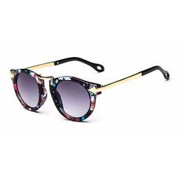 Nova Marca Na Moda Crianças Óculos De Sol Polígono Crianças Meninos Meninas Óculos De Sol Sun Shades Bebê Óculos Óculos Óculos De Proteção de Fornecedores de marcas de óculos de sol à moda