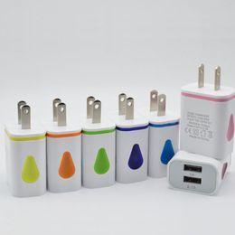 chargeur usb double led Promotion Goutte D'eau Light Up LED Double Ports USB Adaptateur Domicile AC US Plug UE Chargeur Mural Pour Smartphone 100