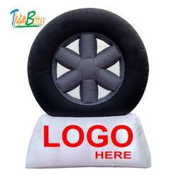 anúncio gigante do balão Desconto modelo inflável gigante do pneu de carro da exposição da propaganda, balão inflável do pneu da propaganda do tipo famoso, réplicas infláveis do pneumático