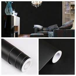 Wholesale cabinets entertainment - Home Decor DIY Kitchen Cupboard Cabinet Self adhesive Wallpapers Roll Vinyl Wall Papers Furniture Wall Stickers PVC Decorative