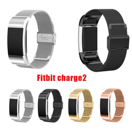 pk fitbit Coupons - Magnetic Milanese Loop Band For Fitbit charge 2 smart bracelet high quality stainless steel strap for charge 2 band pk fitbit alta blaze