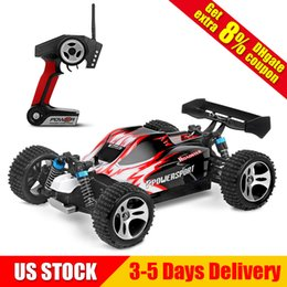Wholesale electric power car - RC Cars High Speed 32MPH Fast Racing Trucks A959 1:18 SCALE RTR Racing 4WD Electric Power Radio Remote control Off Road Truck