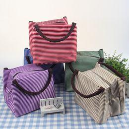 сумки для обеда Скидка Оптовые продажи 7 цветов 22X15.5X17cm тепловой ланч-бокс сумки тарелка наборы сумки путешествия гаджеты шкаф организатор Кухонные аксессуары