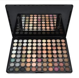 Wholesale 88 Wholesale - New Product Eye Shadow 88 Color Eye Shadow Matte Shimmer Stage makeup Christmas makeup Earth Color