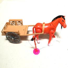 kinder elektronisches auto Rabatt Elektronisches Spielzeug, Stoffspielzeug, elektrische kleine Pferdekutschen, elektrisches Kinderlaufpferd, Pferdewagen