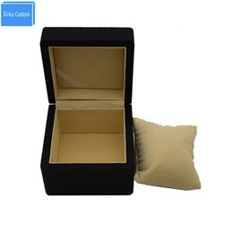 Wholesale business display cases - Special for Custom logo or words, Promotion Event Wood Gift Box for Suitable Watch Jewelry Business Case Organizer Display Case