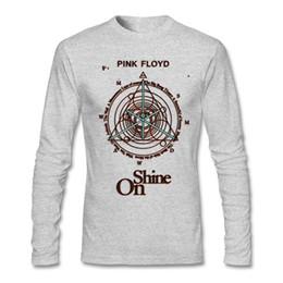 Wholesale Pink Interest - Men's Pink Floyd - Shine On T Shirts punk rock Graphics Crew neck Tee Interesting men Promotion T Shirts