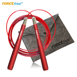 crossfit cable jump rope Coupons - Professional Crossfit Speed Skipping Jump Rope for Fitness Skip Workout Training w  Carrying Bag Spare Cable