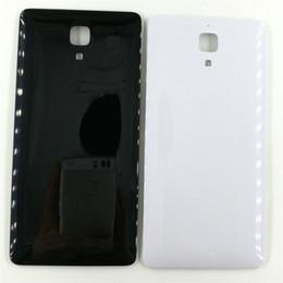Argentina Para Xiaomi Mi 4 Mi4 Brand New Black / White Back Rear Battery Door Door Back Case Case Piezas de repuesto supplier xiaomi mi4 black Suministro