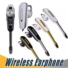 Wholesale Business Blackberry - Business HM1000 Universal Wireless Earphone Stereo Headset Headphone For iPhone 6 6s Plus Samsung S7 Edge with Retail Package