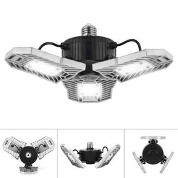 Wholesale airport parking - AC110-265V E27 LED Bulb 60W 6000LM High Intensity Deformable Lamp Ceiling Light for indoor Parking Lot Industrial Warehouse LED Mining Lamp