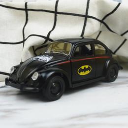 Argentina Venta 1:36 alta imitación de aleación modelo de coche, coche deportivo de Batman, batman escarabajo, puerta abierta Diecast moder, envío gratis Suministro