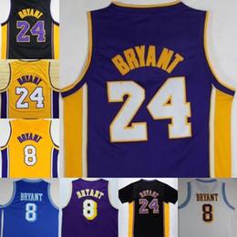 990cf9173 Hommes Basketball Maillots Kobe Bryant Jersey City version 8 24 33 Bryant  noir mamba Maillots Swingman 100% Stitched Jerseys College mixte Ordre