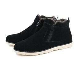Wholesale Short Boots For Men - Break Out Men Boots For Snow Winter Boots for Men Ankle Boots Men Shoes Warm Short Plush Fur Winter