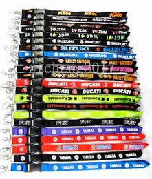 Популярные брелки онлайн-Популярные Классический Мотоцикл Логотип талреп ключ талреп ID держатели мобильных шейный ремешок брелки для mp3 mp4 Рождественский подарок