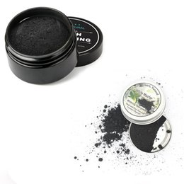 Wholesale Big Charcoal - 2018 Pure Tooth Powder Whitening Black Activated Charcoal Teeth Whitening Remove Smoke Tea Coffee Yellow Stains Toys Gifts free shipping