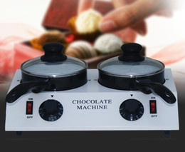 O custo de transporte gratuito Uso Doméstico 2 Pot Caldeirão de Chocolate Pot Caldeirão de Qualidade Superior 2.5 kg de leite Pot de Fornecedores de panelas de fusão de chocolate