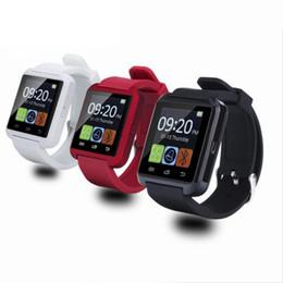 Canada Blue Dent Sport Montre U8 Montre-bracelet U8 SmartWatch Pour iPhone 4 / 4S / 5 / 5S / 6 Samsung S4 / Note / s6 Montre téléphone Android HTC Offre