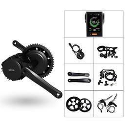 V bremsen fahrrad online-Bafang BBSHD 48 v 1000 watt 68mm C965 Display Mit Bremssensor Motor Kit Elektromotor Fahrrad Mittelantrieb Conversiom Kit Elektromotor EBike