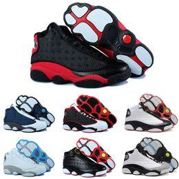 best sneakers 0ee36 f264b Hohe Qualität 13s Basketballschuhe 13 Schwarz Rot Weiß Blau MVP Panda  Chicago Männer Frauen 3 Mt Sportschuhe 13 Turnschuhe preiswerte mvp schuhe