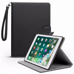 Comprimidos de maçã china on-line-Caso para ipad air / air 2 / para ipad 9.7 polegadas 2017/2018 bracket pu couro de alta qualidade smart auto sono wake tablet case