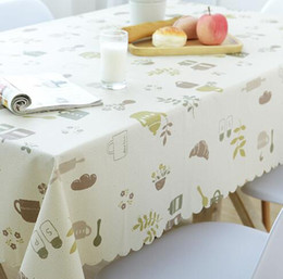 Wholesale Green Table Restaurant - Factory Direct Garden Table Cloth Waterproof and Oil Proof Hot Disposable Tablecloth PVC Plastic Restaurant Rectangular Table Cover