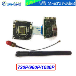 Wholesale Slot Module - Wireless wired Webcam wifi IP camera module HD 720P 960P 1080P support onvif P2P SD card slot Max32G for CCTV security camera