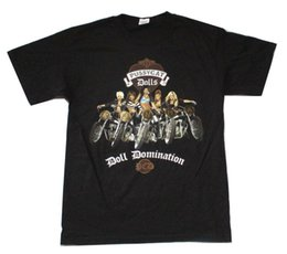 cottons doll UK - Pussycat Dolls Doll Domination 2009 Tour Black T Shirt New Official PCD