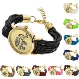 elephant wrist watches Promo Codes - Retro Elephant Watch Women Fashion bracelet Watch Ladies Band Vogue Wrist Watches bayan kol saati