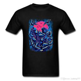 Vogue T-shirt Hommes Musique Pop Flying Back Image Tshirt Rock Eagle T-shirts Bonne Qualité Vêtements Chemise D'été À Manches Courtes ? partir de fabricateur