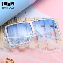 Wholesale Sun Glasses For Ladies - New Square Oversized Sunglasses for Women Fashion Sun Glasses Lady Brand Designer Vintage Shades Gafas Oculos de sol UV400